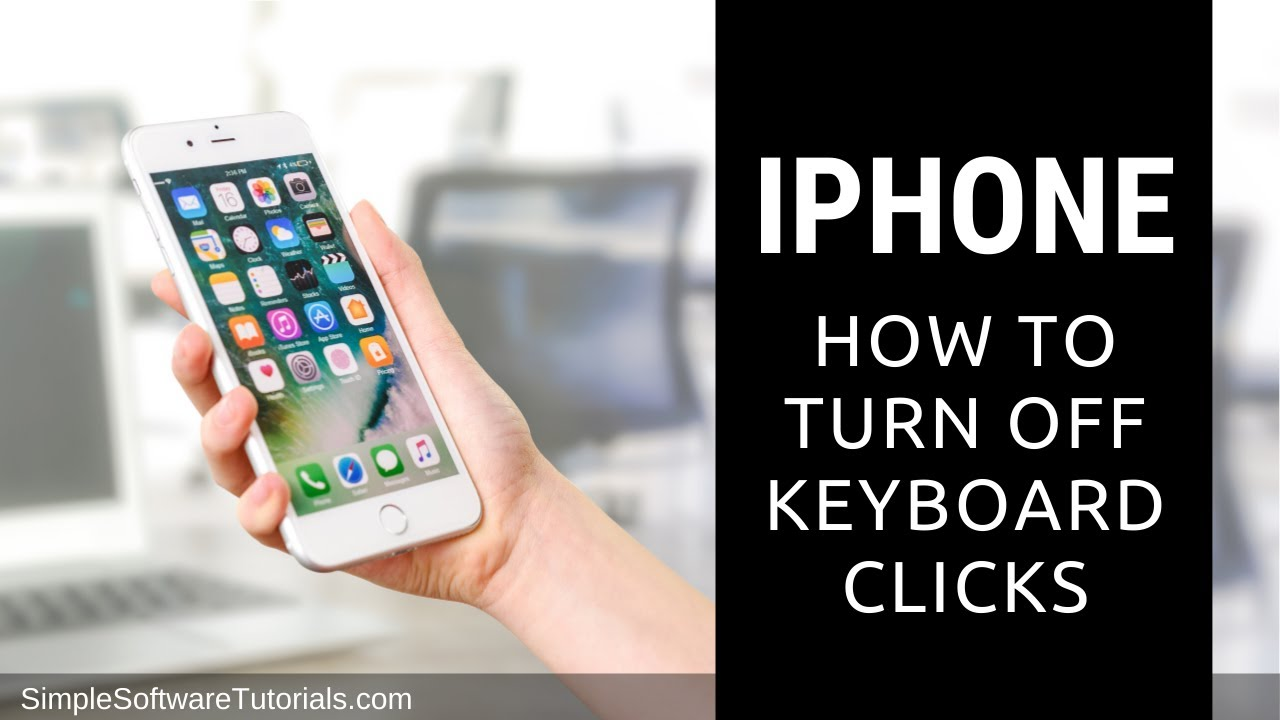 turn off keyboard clicks mac