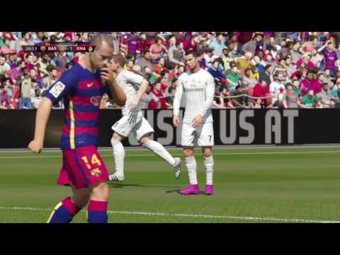 Fifa 16: O derby do ano Real Madrid - Barcelona