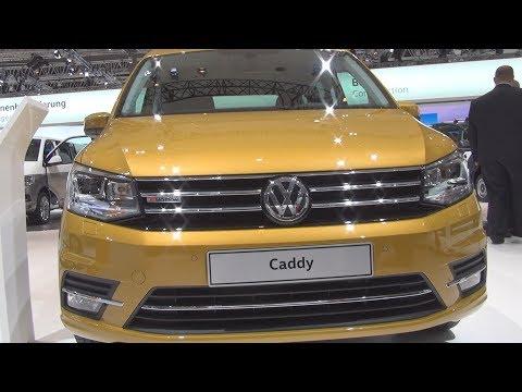 Volkswagen Caddy Highline 2.0 TDI BlueMotion 110 kW (2017) Exterior and Interior