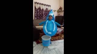 Water drop fancy dress competition