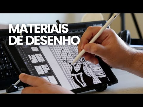 Escolhendo o material de desenho certo