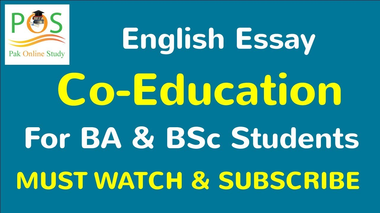 co education essay for b a  co education essay for b a