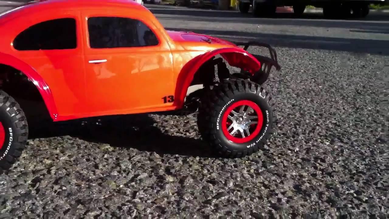 Traxxas Slash 4x4 With Custom Baja Buggy Shell With