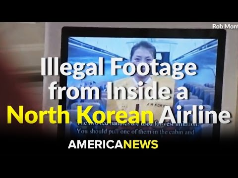 A Look Inside Flying On North Korea's One-Star Airline