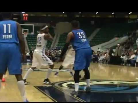 Tulsa 66ers v Texas Legends 1-18-12 highlights & Interview with Greg Ostertag
