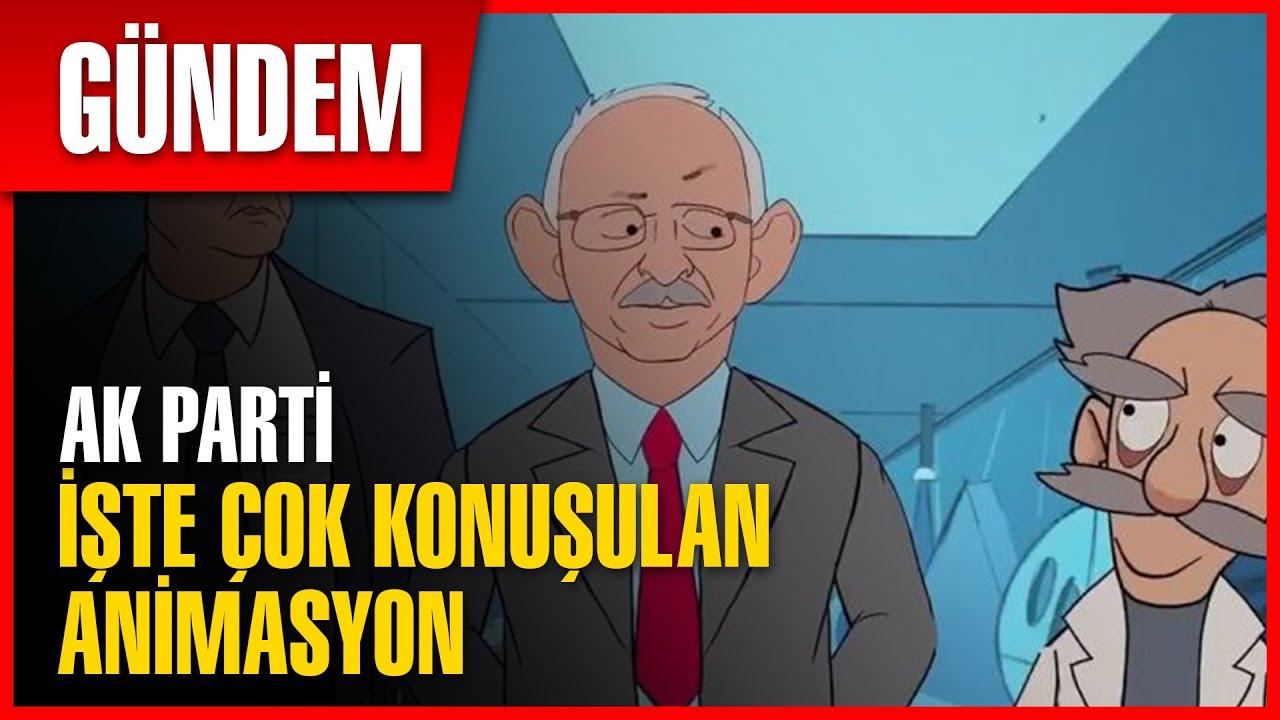Ak Parti'den CHP'ye Animasyonlu Gönderme   Son Dakika Haber