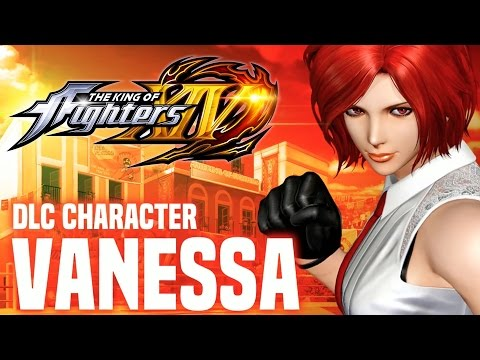 The King of Fighters XIV - Vanessa DLC Character Reveal Trailer