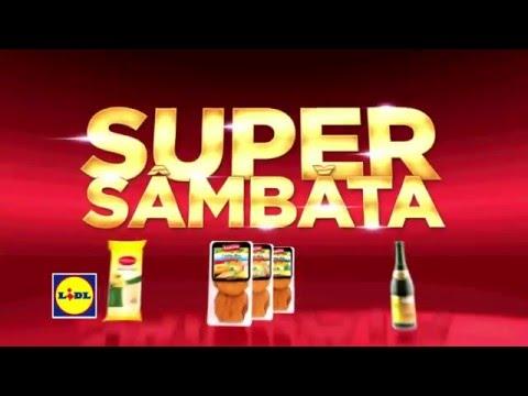 Super Sambata la Lidl • 5 Martie 2016