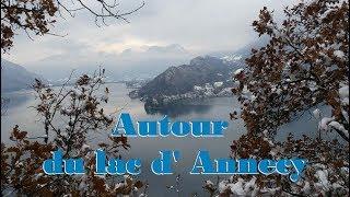 Randonnée tour du lac d' Annecy depuis Duingt   Haute Savoie