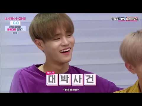 Wanna One's Lai Guanlin Being Savage (Wanna One GO EP1 cut)