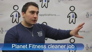 Planet Fitness Interview - Cleaner