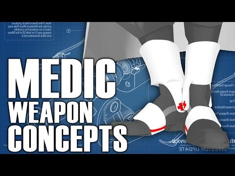 New Medic Weapon Concepts