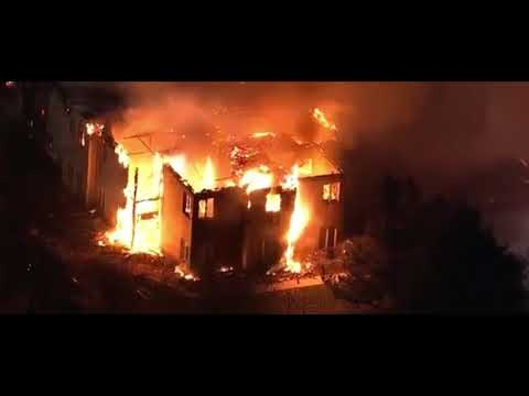 Huge Fire is raging at a nursing home in West Chester Pennsylvania outside Philadelphia