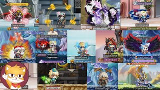 All Warrior Classes   Gameplay and Skills   MapleStory 2021