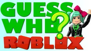 Roblox LIVE | GUESS WHO CHAT GAME | Join me! Geegee92