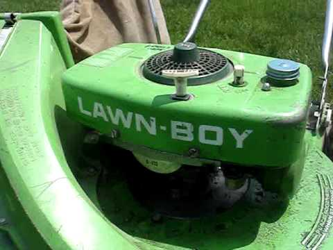 I Scored The Bricktop Lawnboy Lawnmower
