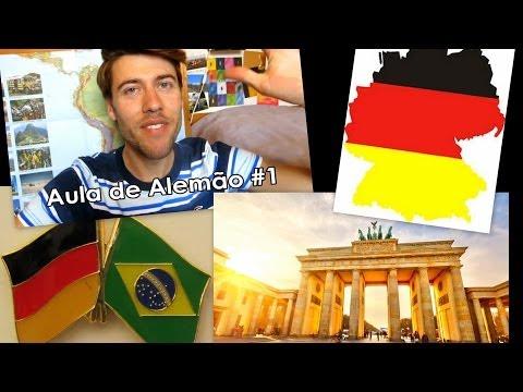 Aula de Alemão #1 | Saudações, Se apresentar | Facil - Explicado por um alemão