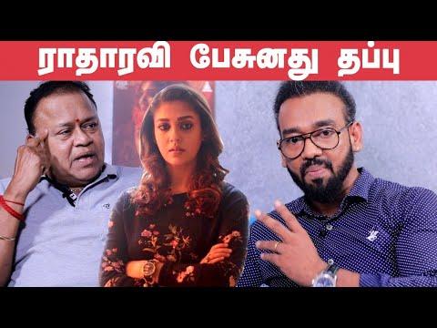 Why Radha Ravi Came for Nayanthara Audio launch? - Kolayuthir Kalam Producer Opens up