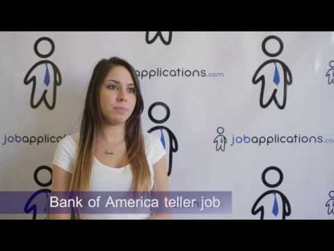 Bank of America Interview - Teller