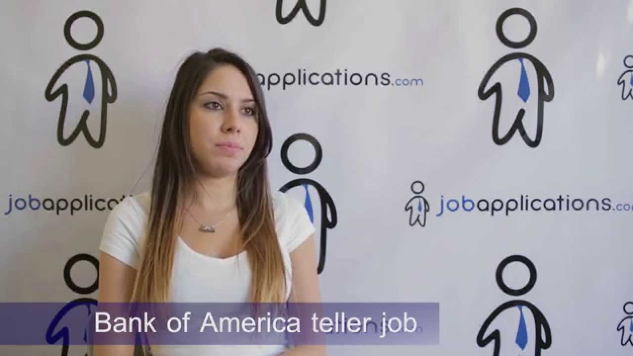 e137bbb495 Bank of America Interview - Teller