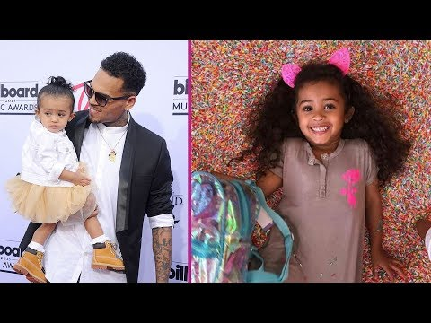 Chris Brown's Daughter 'Royalty Brown' 2017
