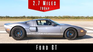 2006 Ford GT (Top Speed Test)
