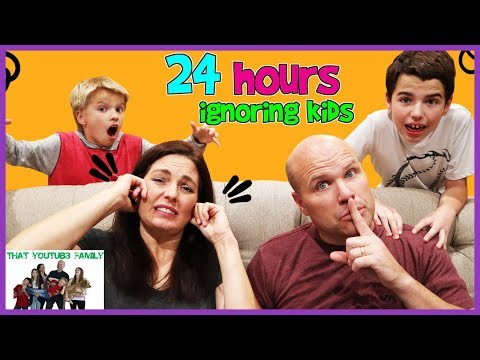 24 Hours Ignoring Kids Prank / That YouTub3 Family I Family Channel thumbnail