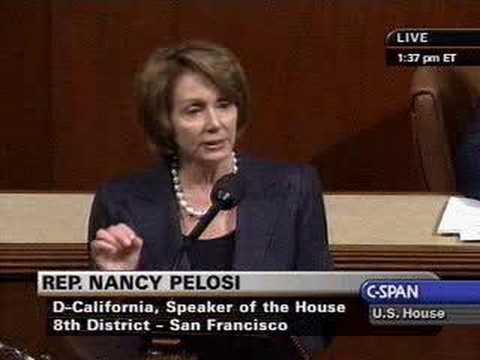 Speaker Pelosi On Investing In Clean, Renewable Energy