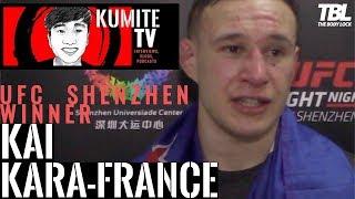 Kai Kara-France | UFC Shenzhen | Post Fight Interview