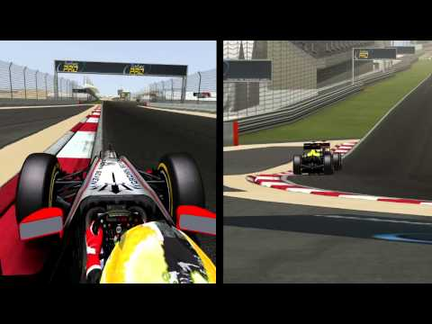 rFactor - FSR World Trophy - Alessio Campus Sakhir 2013