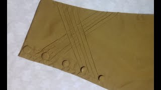 Designer Trouser Cutting And Stitching - New Trouser Design Cutting 2018