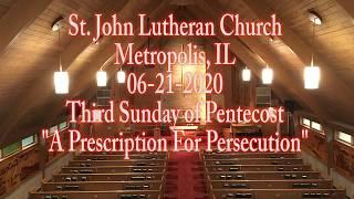 06-21-2020 A Prescription For Persecution