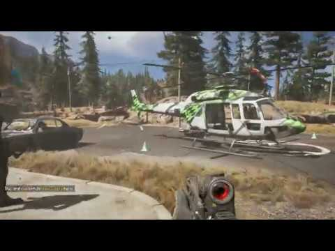 Far Cry 5 Quick Look how to get your Deluxe and Preorder Weapons and Vehicles equipped