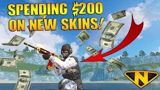 Spending $200 On New Skins! (22,000+ Diamonds!)