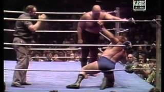 Bruno Sammartino vs. George Steele- MSG 5/1977