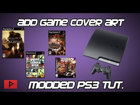 [How To] Add Game Cover Art for Modded CFW PS3 Tutorial (Webman, Multiman)