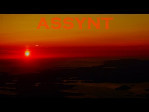 ASSYNT-Wild Camp-Cul Beag-Drone-Timelapse- Hillwalking-Scotland