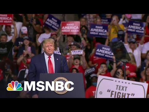 Republican Base Backs Trump As He Spreads Election Falsehoods   MTP Daily   MSNBC
