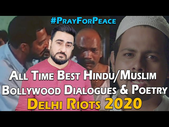 All-Time Best Hindu Muslim Bollywood Dialogues & Poetry | Delhi Riots 2020 | IAmFawad