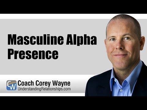 Masculine Alpha Presence