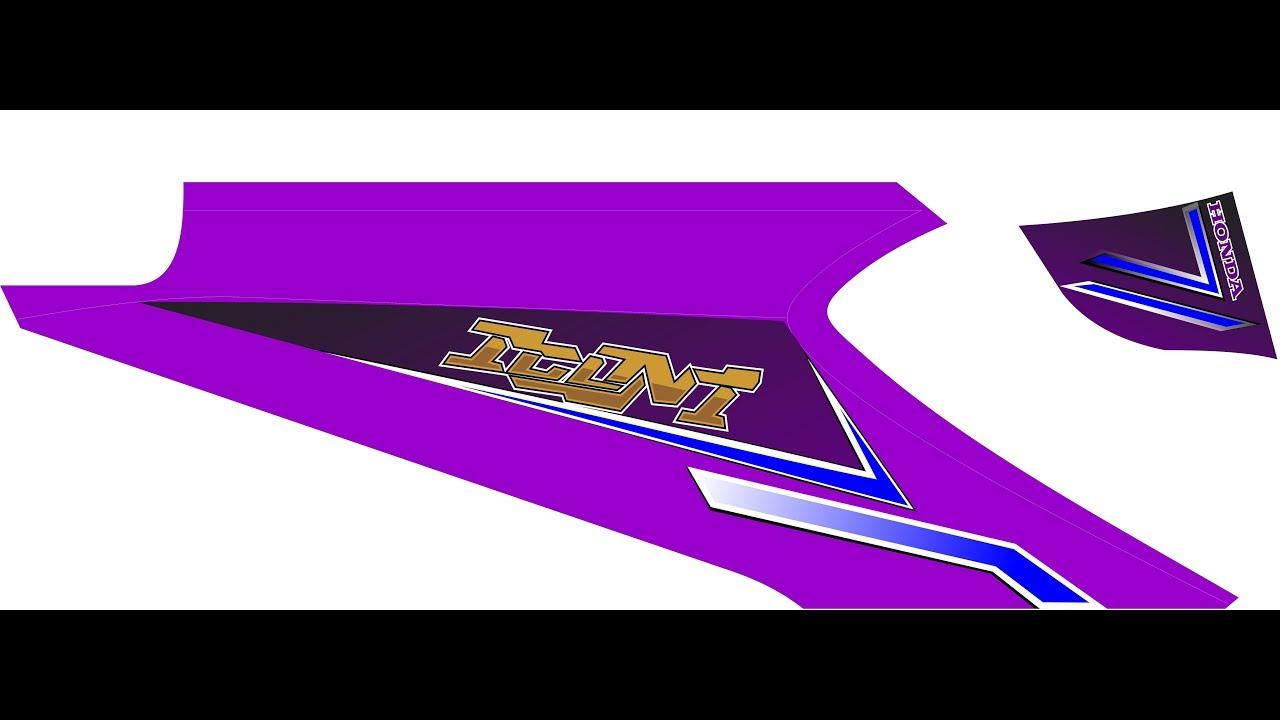 Striping beat karbu custom free download pola youtube
