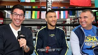 """""""YOU QUIT, YOU'RE NOT GONNA GET PAID!"""" - LOMACHENKO ON RIVALS SIGNING CONTRACTS SO THEY DONT QUIT"""