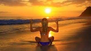 Música para Meditação de Yoga, Música relaxante de meditação, Yoga, Batimentos binaurais, ☯3274