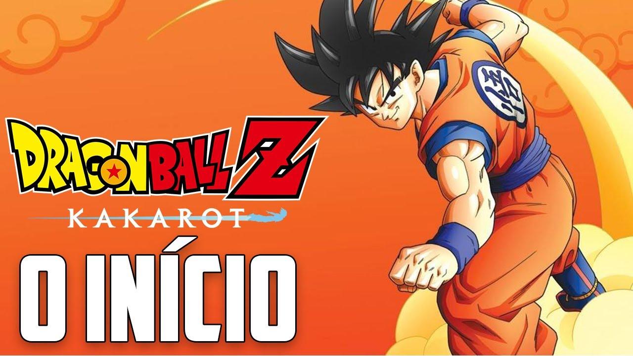 Dragon Ball Z Kakarot   O INÍCIO DO GAMEPLAY