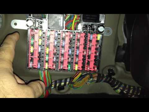 Ford Taurus Fuse Diagram Ford Fiesta Cigarette Lighter Fuse 2002 To 2008 Youtube