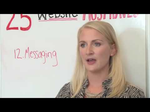 Website Must-Haves #12: Messaging