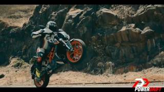BEST BIKE STUNTS ON KTM DUKE NEW 2017