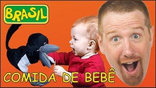 Comida de Bebê | Histórias em Português para Crianças | Bebê Steve and Maggie Brasil