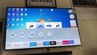 Cách kết nối Laptop với Smart Tivi bằng cáp HDMI và cáp VGA to HDMI
