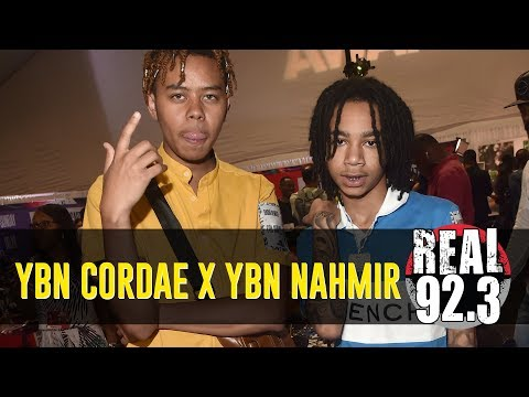 YBN Cordae x YBN Nahmir Share About & Future Plans Live From The BET Radio Room | BET Weekend 2018